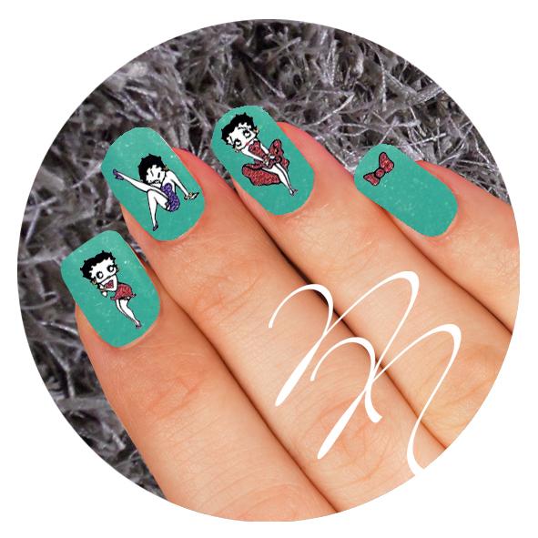 Stickers Betty Boop Noca Nails
